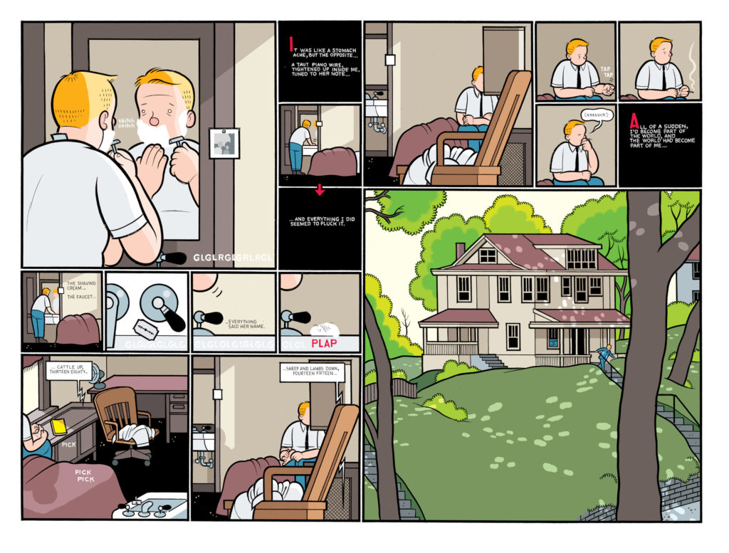 Charles Hatfield Reviews Rusty Brown by Chris Ware - SOLRAD